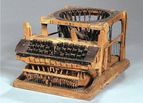 Erfindung Schreibmaschine