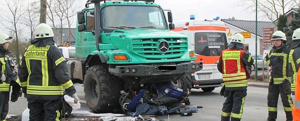 Unimog 401 Unfall In Sedelsberg: ...