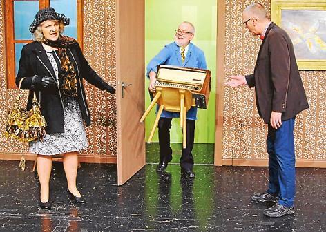 Vorstellung Delmenhorst Fulminante Premiere über Schrullige Rentner Wg