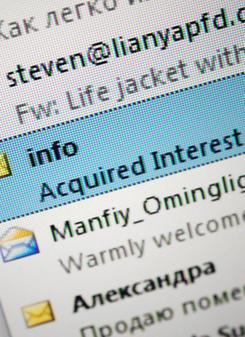Internet Kriminalität Oldenburg Gefälschte Mails Fordern