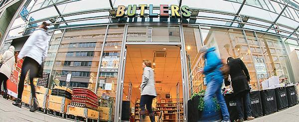 Handel Einrichtungskette Butlers In Schwierigkeiten