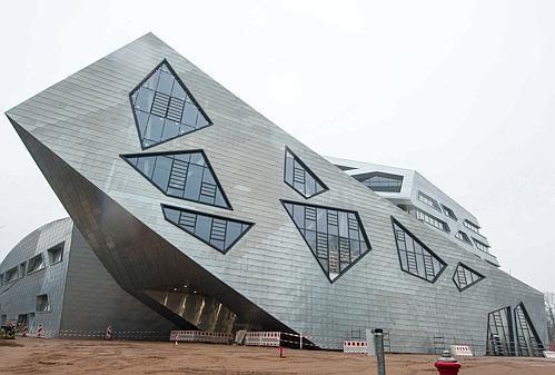 Architekten Lüneburg architektur lüneburg libeskind bau feierlich eingeweiht