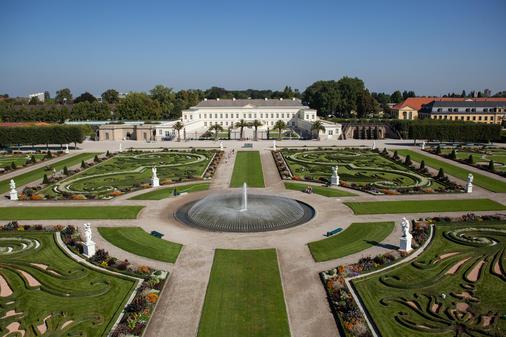 Herrenhäuser Gärten Von Barocker Strukur Bisins Romantische Paradies