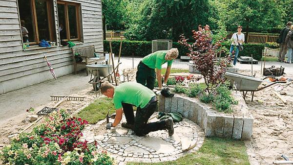 Landschaftsgärtner  Park Rostrup: Landschaftsgärtner messen sich