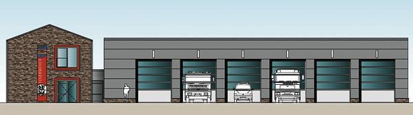 Neubau Zetel Feuerwehrhaus Soll 2 4 Millionen Kosten