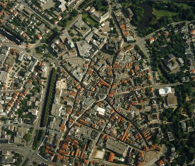Fussgangerzone Oldenburg Karte.50 Jahre Fussgangerzone So Schon Ist Oldenburg Von Oben
