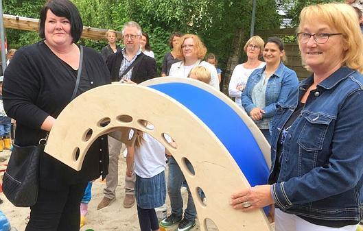 Montessori Kletterbogen : St marien brake spielgerät für montessori kindergarten