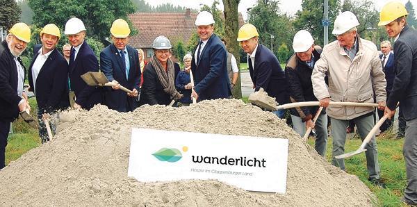 """Hospiz Cloppenburg: """"Gemeinsam wollen wir ein Haus bauen"""""""