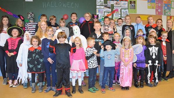 Ferienbetreuung Halloween-Party zum Abschluss