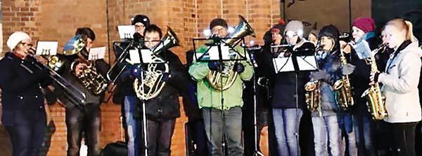 Weihnachtslieder Blasorchester.Kirche Friesoythe Festliche Klänge