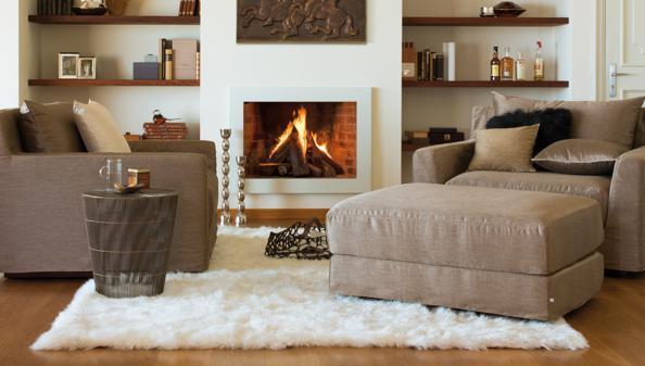 Wohnzimmer kuschelig  Wohnzimmer: Kuscheliges für Komfortzone