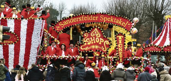 Fasching Ganderkesee Wildeshausen Sandersfeld Goldenstedt Schonster