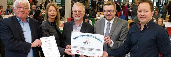 Auszeichnung Barßel Igs Barßel Als Sportfreundliche Schule Geehrt