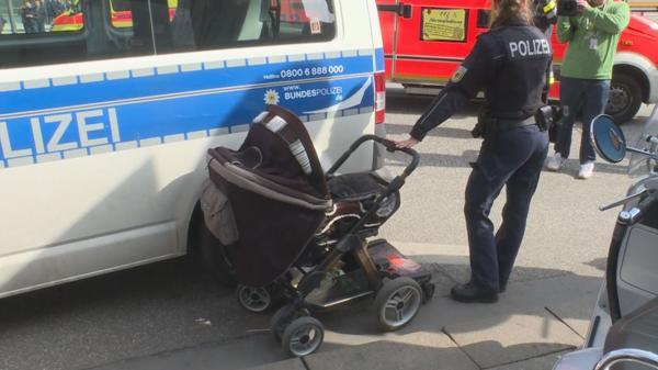 Polizeieinsatz In Hamburger Innenstadt: Kind und Ex Frau bei