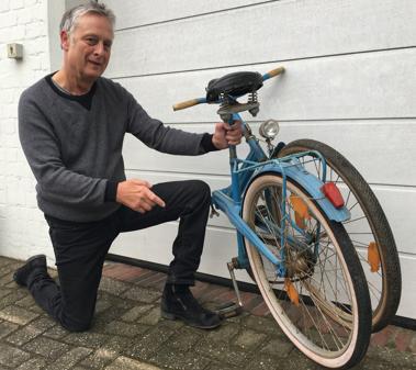 4bd616ca23575 Reisefertig  Eingeklappt in eine halbwegs handliche Größe ließ sich das  Fahrrad mit in den Urlaub nehmen. Als Andreas Drabandt ein Kind war