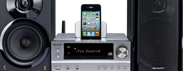 kompakte stereoanlagen kleine allesk nner f r die. Black Bedroom Furniture Sets. Home Design Ideas