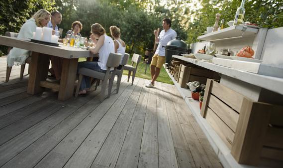 Outdoor Küche Düsseldorf : Gartenküche: brutzeln mitten im grünen