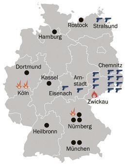 München Karte Deutschland.Nsu Prozess So Sieht Es An Den Tatorten Heute Aus