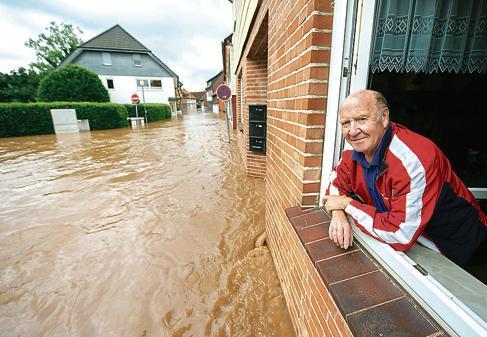 Hochwasser Rhüden