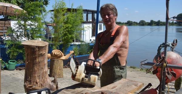 Treibholz Kunst hobby brake: wie aus einem treibholz kunst wird