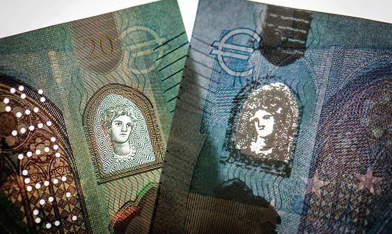 Viele falsche 50-Euro Scheine: Weniger Euro-Falschgeld in Europa und Deutschland