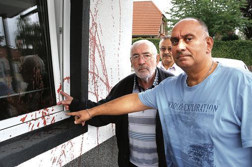 Schmierereien An Moschee Nordenham Islamische Gemeinde Steht Unter