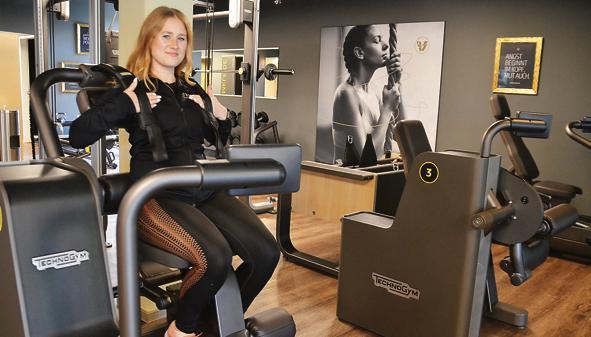 hat sich auf dem weg in ein gesundes leben ihren traum erfllt christina gtting leitet das fitnessstudio viva woman in bad zwischenahn