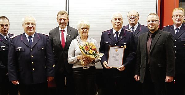 Dank für 50 Jahre Feuerwehr