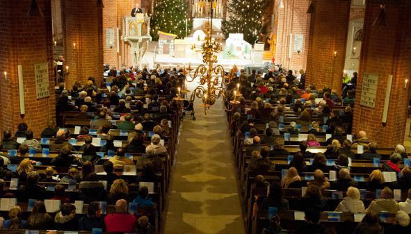 Weihnachten Kirche.Weihnachten In Ganderkesee Ganderkesee Schönemoor Volle Kirchen An