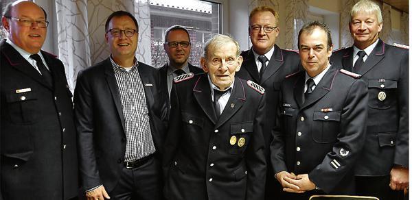 60 Jahre in der Feuerwehr