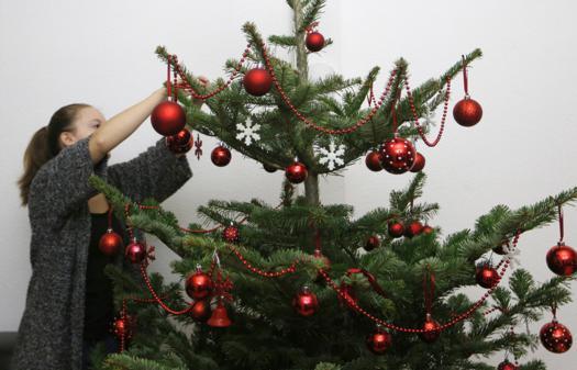 Schmuck Für Weihnachtsbaum.Weihnachtsbaum Schmuck Ausgewogen Verteilen