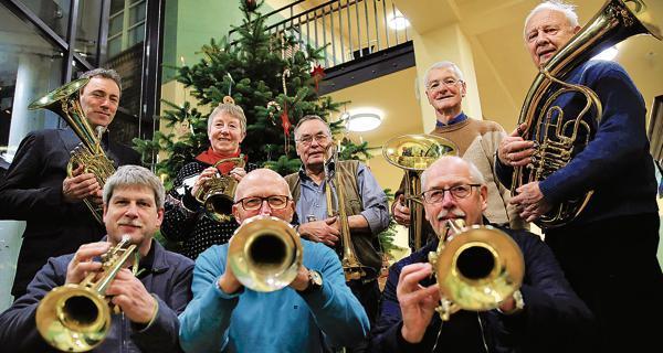 Weihnachtsgrüße Musikalisch.Kurrendeblasen Westerstede Musikalische Weihnachtsgrüße