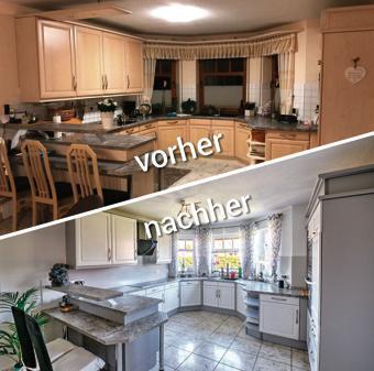 Renovierung: Wie neu: Frische Farbe für die Küche