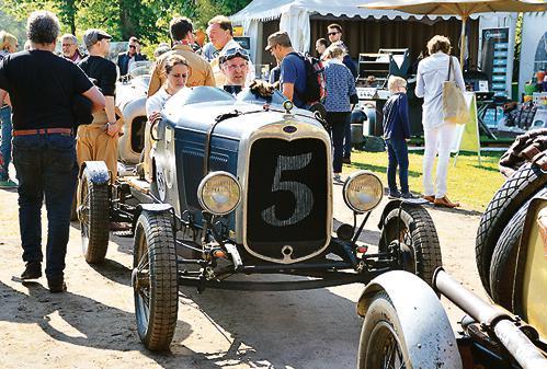 Vintage Race Days Rastede: Historische Rennwagen der 30er ...