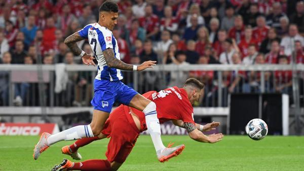 Fussball Bundesliga Bayern Munchen Stolpert Gegen Hertha In