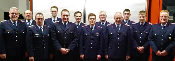 Freiwillige Feuerwehr Zieht Bilanz - Einsatzreiches Jahr für Elmendorfer Brandschützer
