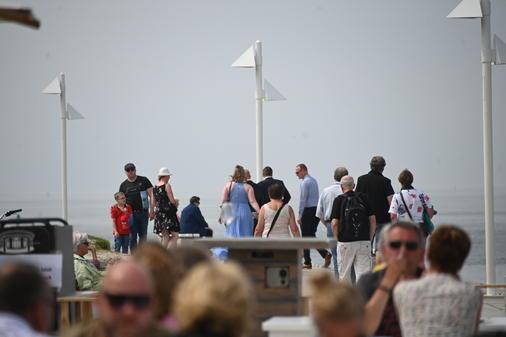 Norderney Tagestouristen
