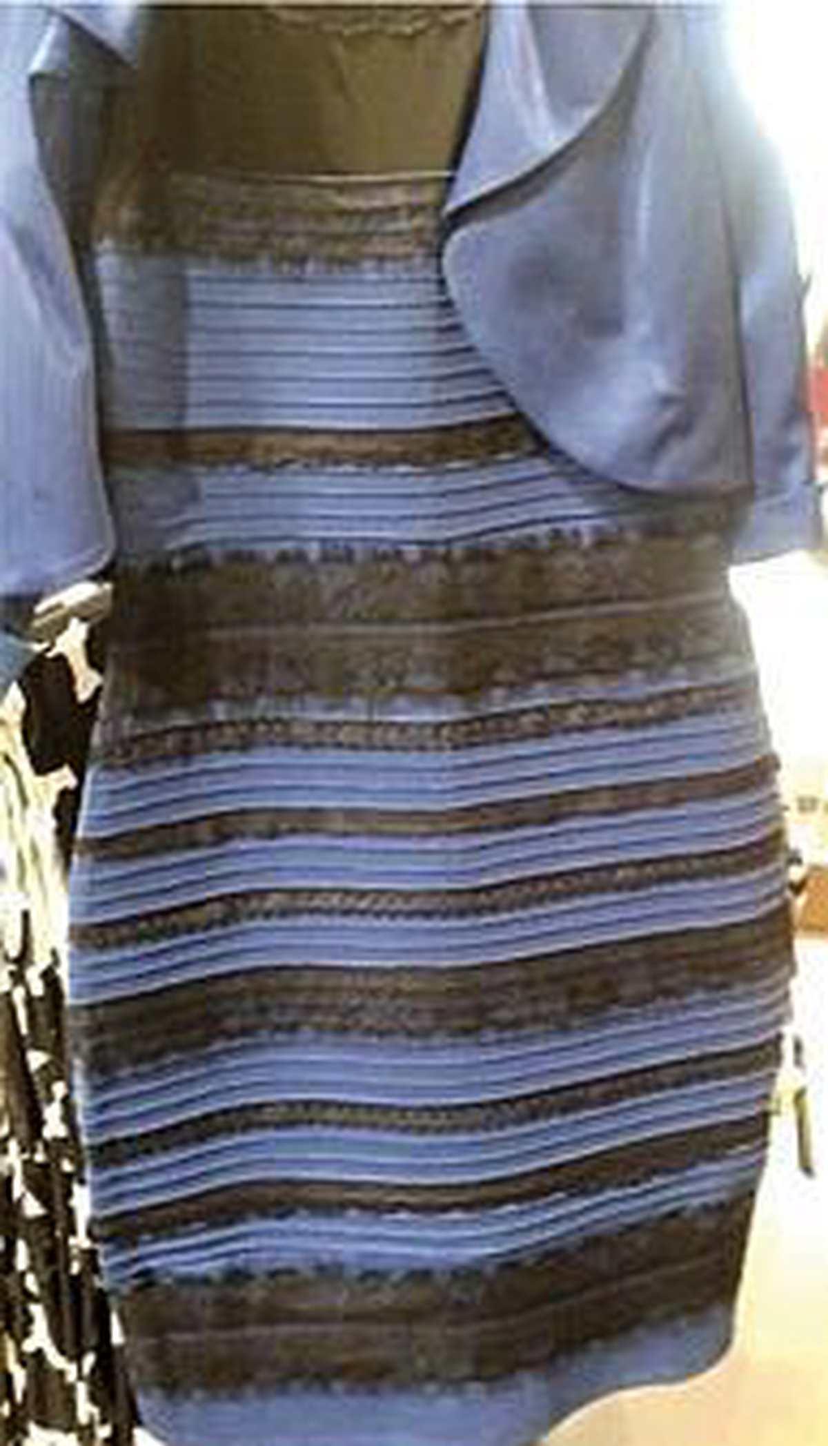 internet: mysterium der kleiderfarben