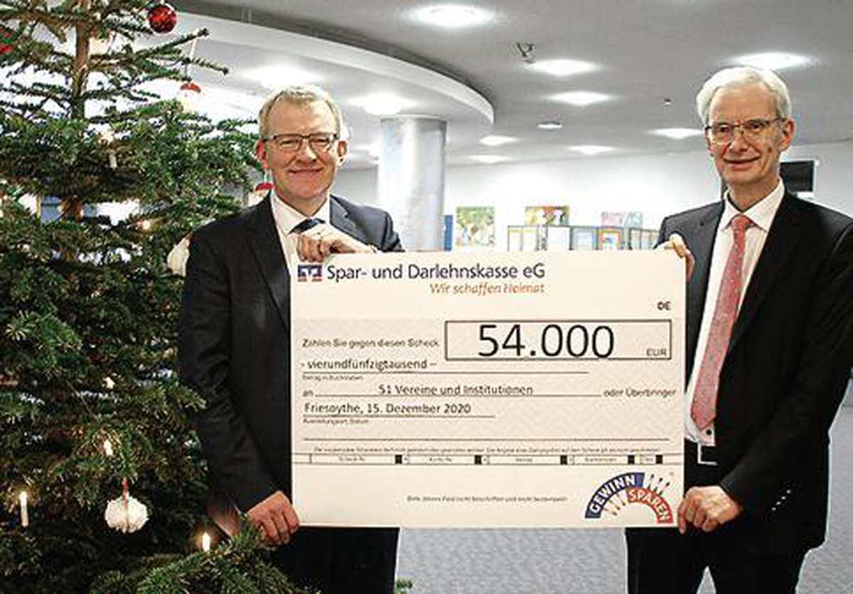 Spadaka Friesoythe: 54 000 Euro für Vereine und Institutionen