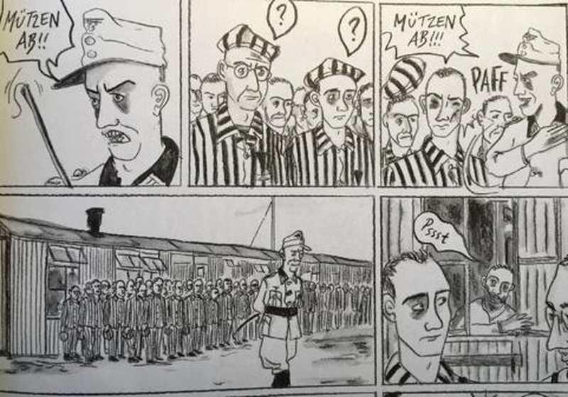Bunker Valentin: NS-Verbrechen in Bremen-Nord als Comic - Nordwest-Zeitung