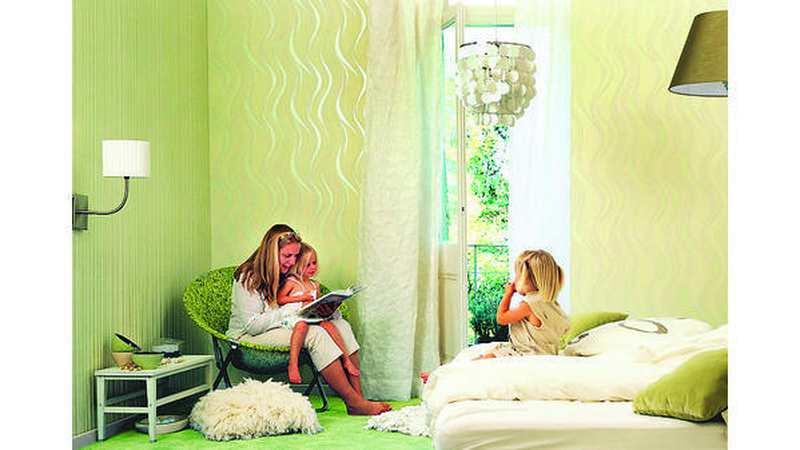 wandegestaltung tapete trumpft mit muster auf. Black Bedroom Furniture Sets. Home Design Ideas