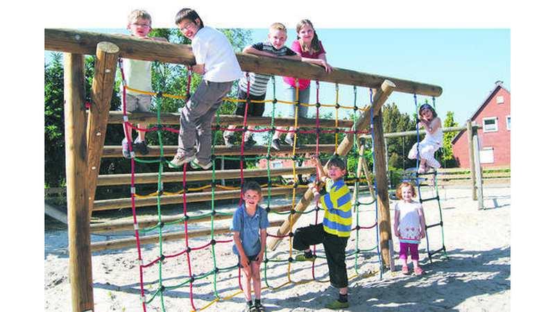 Klettergerüst Test : Spielplatz test hude: klettern und toben ohne gefahr