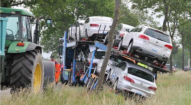 Autotransporter Unfall Heute