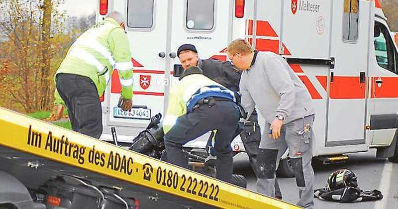 ersthelfer reagieren musterg ltig lohne bokern motorradfahrer bei unfall in bokern schwer verletzt. Black Bedroom Furniture Sets. Home Design Ideas