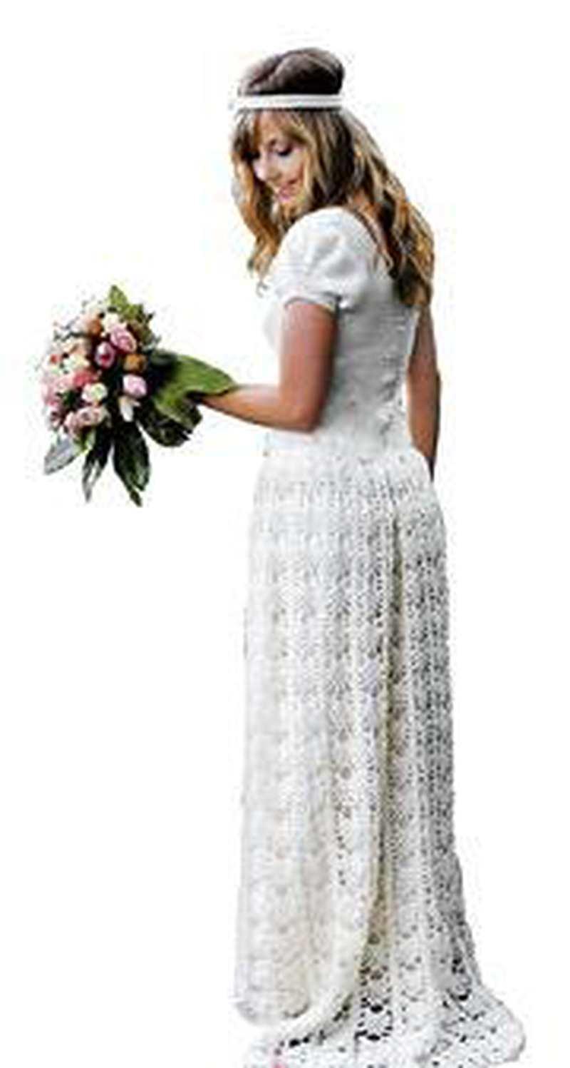 Handarbeit: Schafwolle zur Hochzeit statt Seide