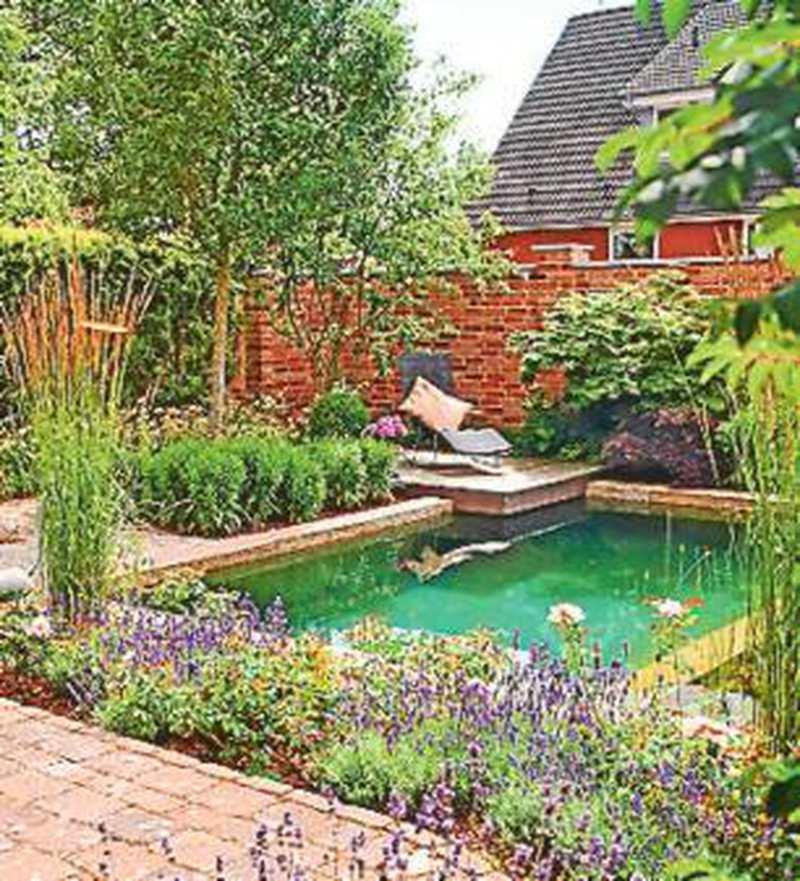 Schwimmbecken platz zum planschen auch im kleinsten garten - Tauchbecken im garten ...
