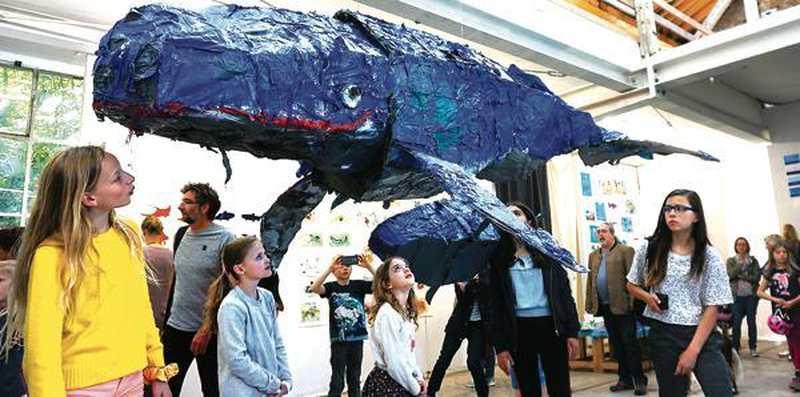 Ausstellung In Oldenburg: So wird aus Abfall Kunst