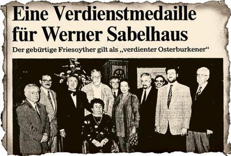 Persönlichkeiten: Für Engagement belohnt - Nordwest-Zeitung