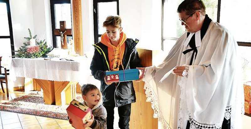 Ehrenamt: Bunte Päckchen erfreuen Kinder - Nordwest-Zeitung