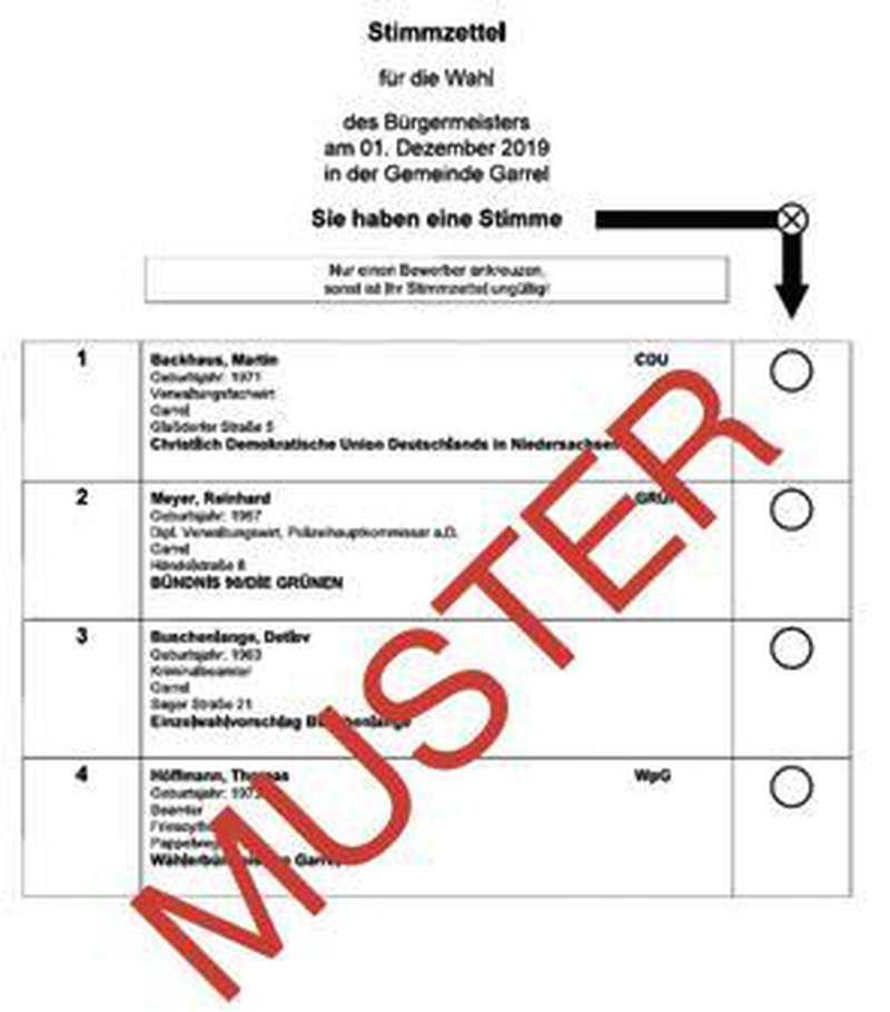 Politik: Sechs wichtige Antworten zur Bürgermeisterwahl - Nordwest-Zeitung